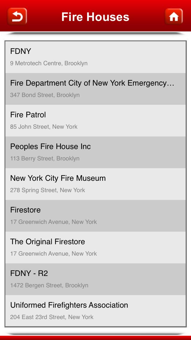 FDNY Firehouse Locations screenshot 5