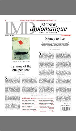 Le Monde diplomatique, English screenshot 1