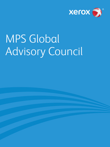 Xerox MPS Advisory Council screenshot 3