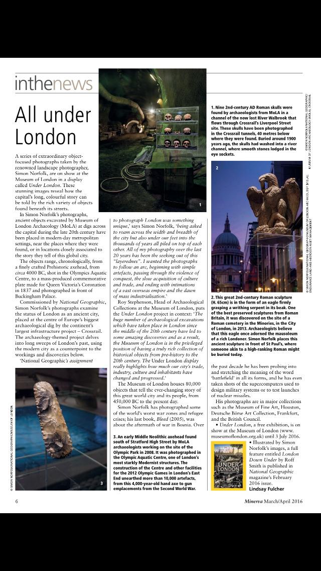 Minerva (Magazine) screenshot 5