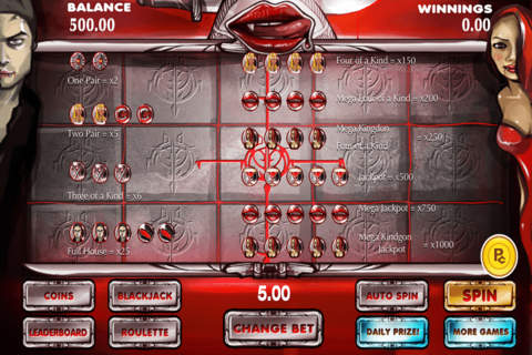 Aces Casino True Vampire Slots Free - náhled