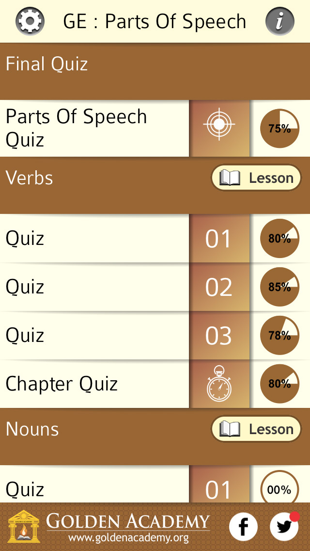 Grammar Expert : Parts Of Speech screenshot 2
