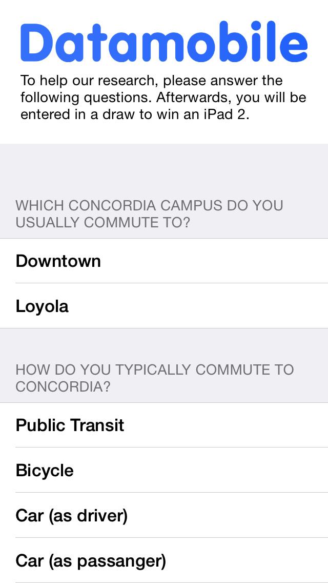 Concordia.DataMobile screenshot #3