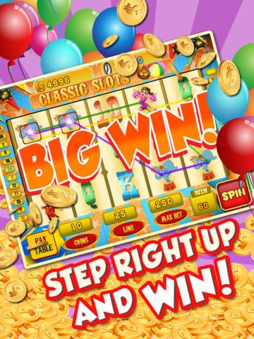 Ace Circus Vegas Slots - Lucky Big Win Classic Jackpot Slot Machine Casino Games HD screenshot 7