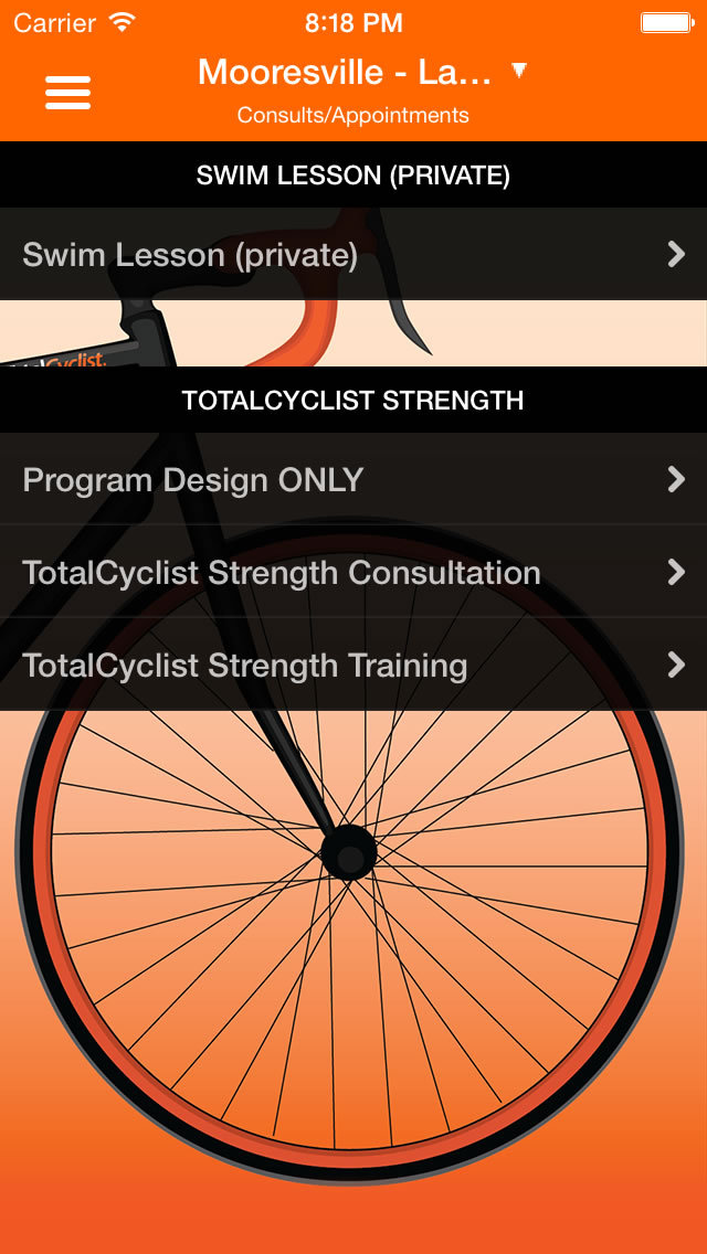 TotalCyclist screenshot #3