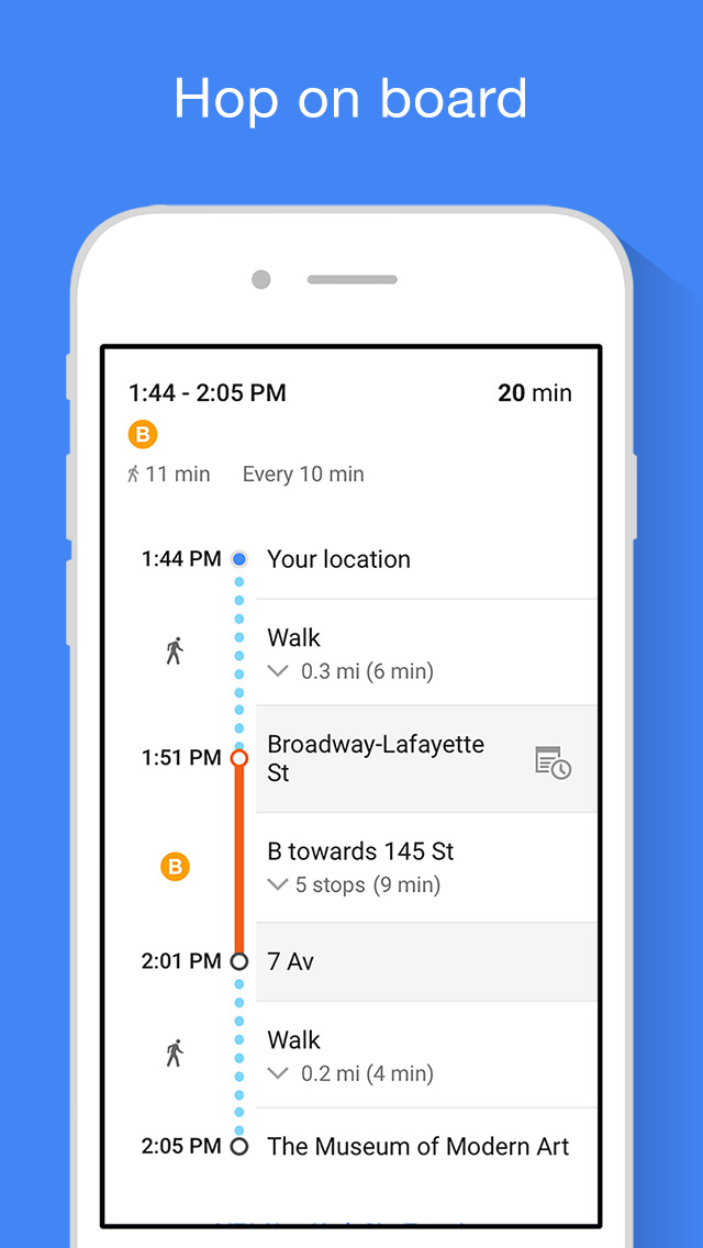 Google Maps - Transit & Food screenshot 4