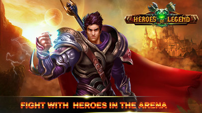 Heroes of Legend : Castle Defense screenshot 1
