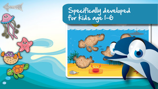 Free Sealife Cartoon Jigsaw Puzzle screenshot 1