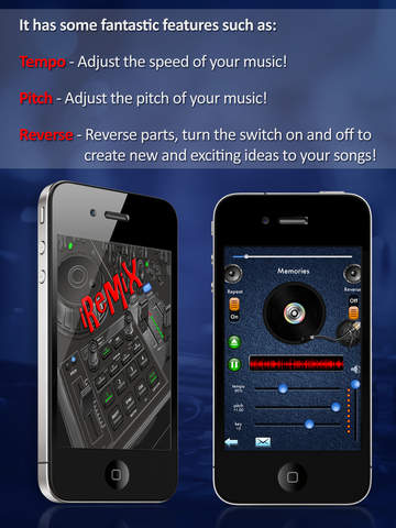 iRemix Free - Portable DJ Music Editor & Remixer screenshot 6