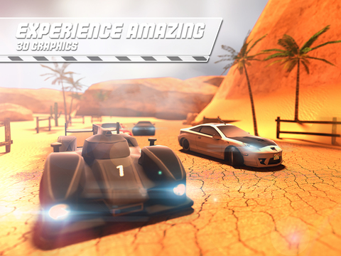 Desert Speed Racing: Need for Real Asphalt Drift 3D - Underground Race Addiction screenshot 9