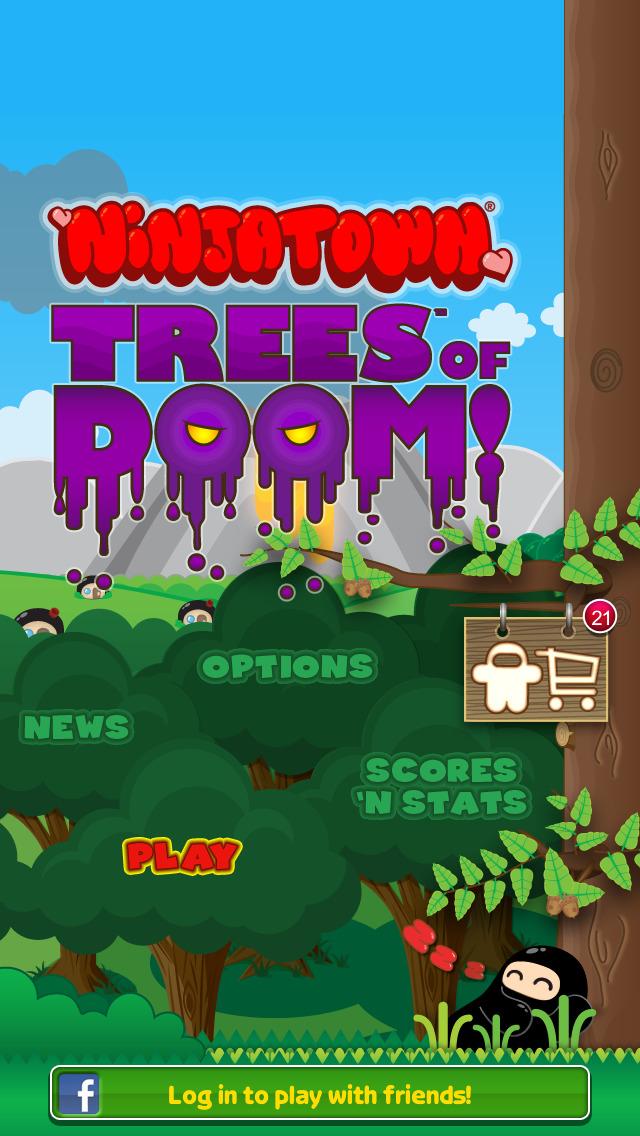 Ninjatown: Trees Of Doom! screenshot #1
