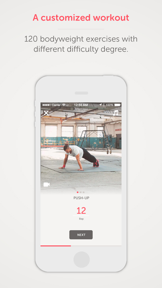 FitStadium | Personal Trainer for weight loss and muscle gain screenshot 1
