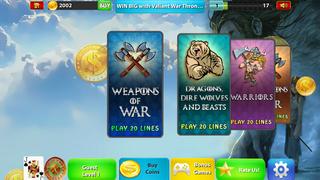 Valiant  War Thrones Slots - Kings Legacy Corridor Casino Expedition screenshot 4