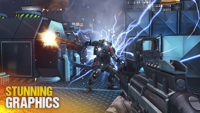 لعبة Modern Combat 5: Blackout v1.1.0j (Unlimited Ammo) لجوالات الاندرويد