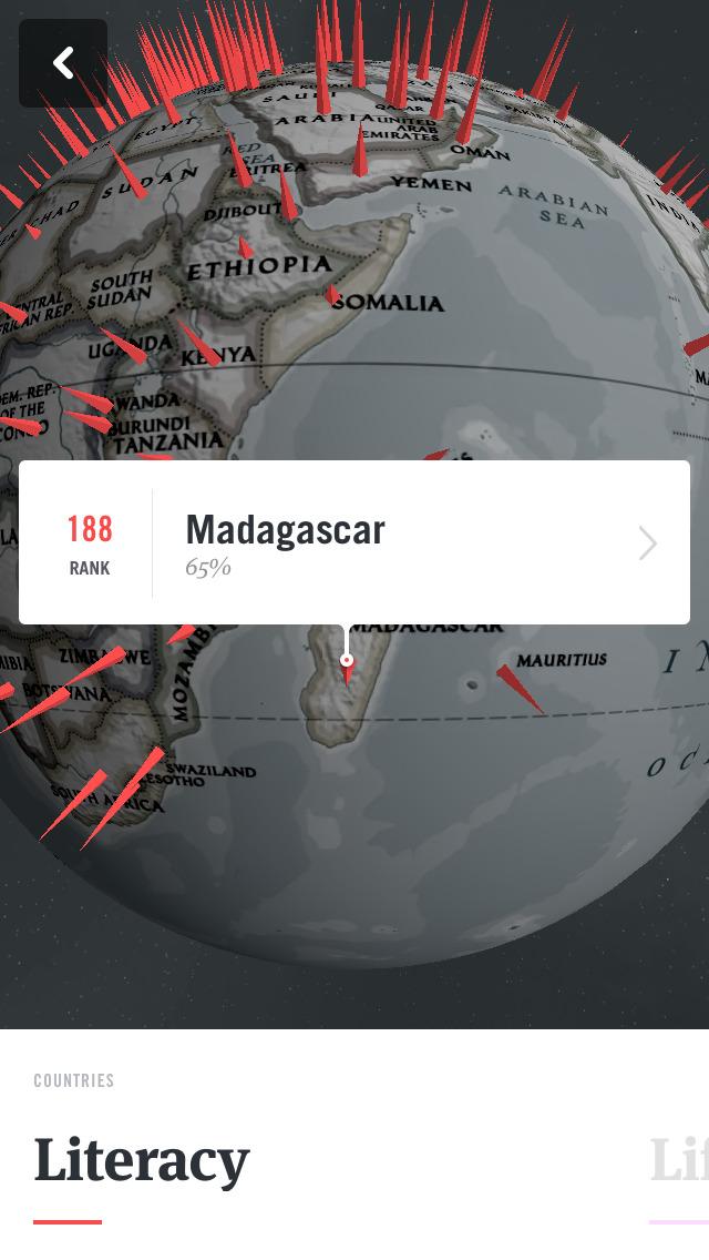 National Geographic World Atlas screenshot 3