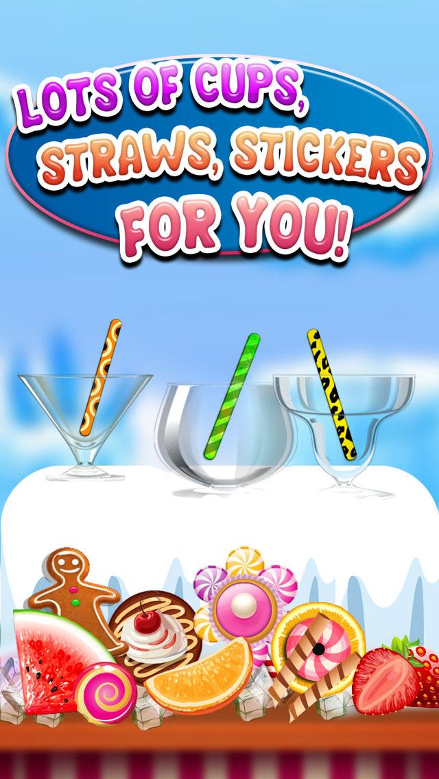 """ A AmazeBalls Candy Froyo Maker PRO – Customer Frozen Yogurt Creator screenshot 5"