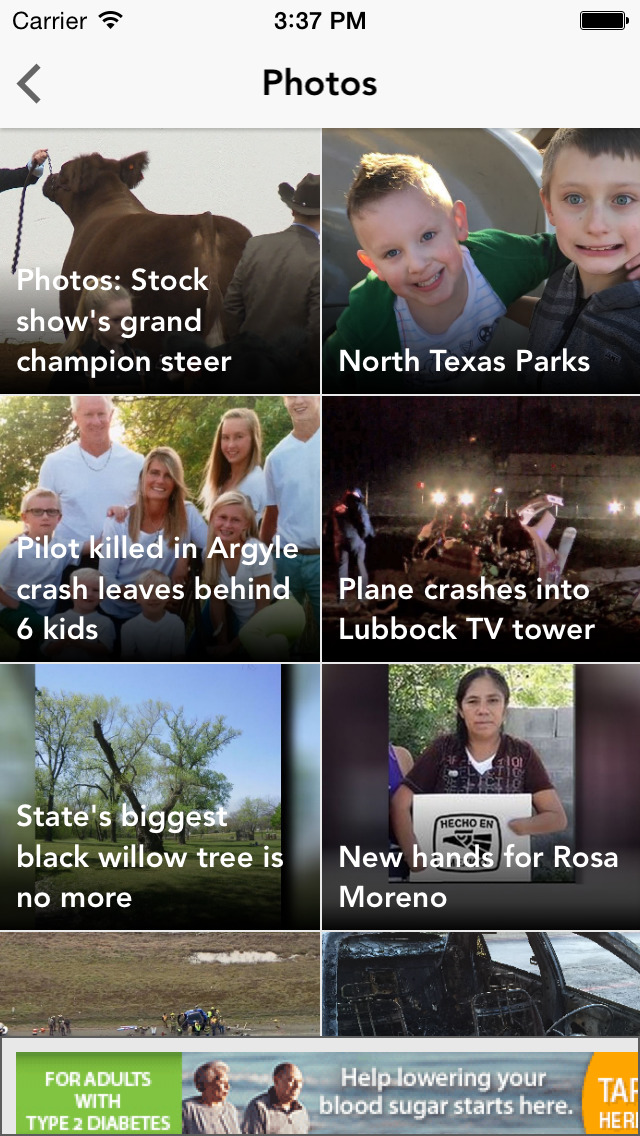 WFAA-North Texas News, Weather screenshot 3