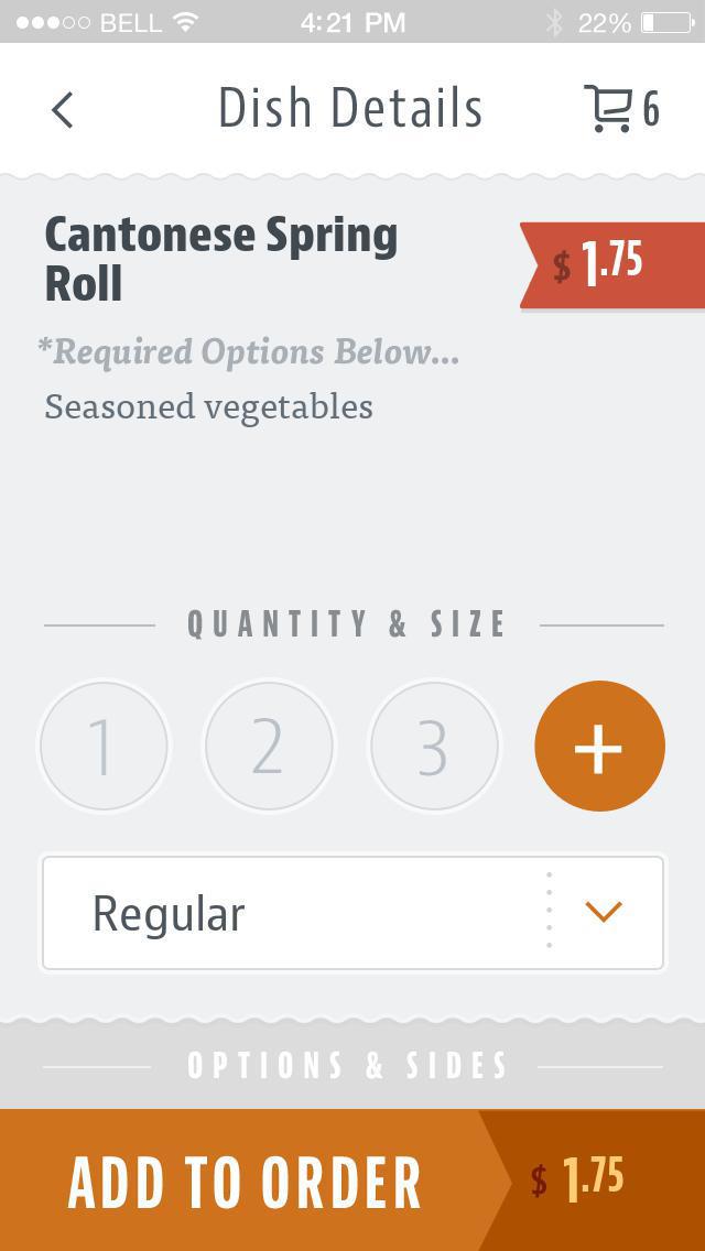Aiya Asian Cuisine screenshot 4