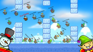 Christmas Race – Fun Flying Santa Claus Game screenshot 3