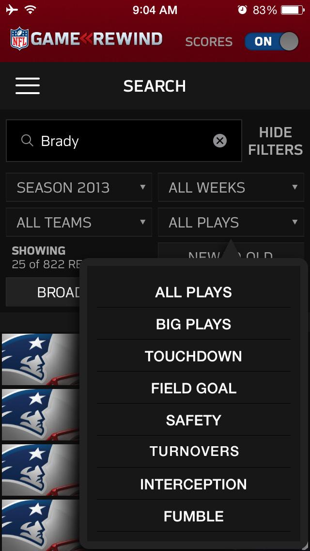 NFL Game Rewind screenshot 4