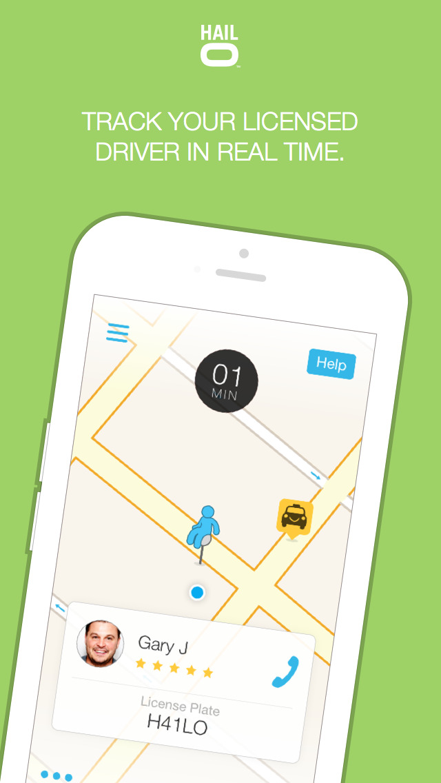 Hailo - The Taxi App screenshot 3