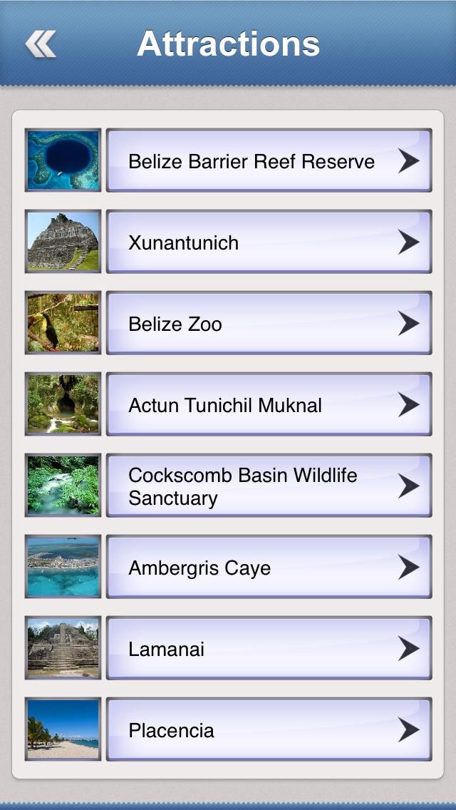 Belize Essential Travel Guide screenshot 3