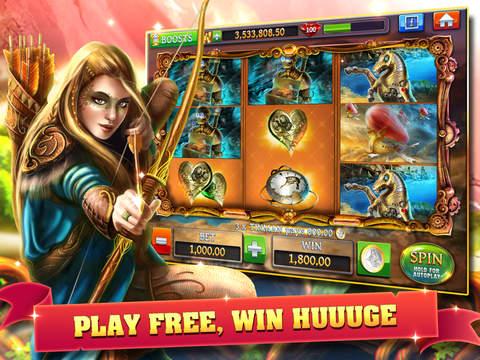 Slots - Journey of Magic HD+ screenshot 7