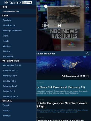 NBC Nightly News screenshot 8