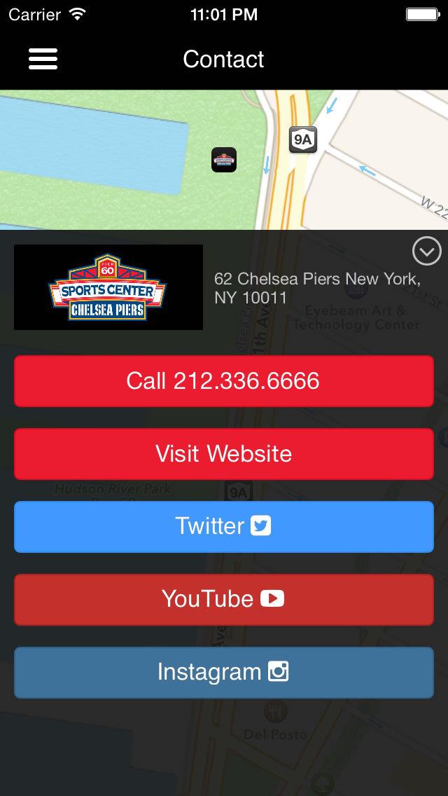Chelsea Piers Sports Center screenshot #4
