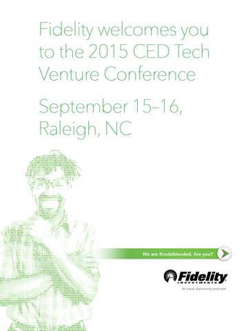 CED Tech Venture Conference screenshot 4