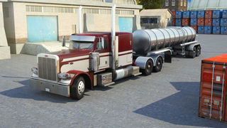 3D Semi Truck Parking PRO - Full Trucker Driving School Simulation Version screenshot 1