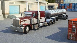 3D Semi Truck Parking PRO - Full Trucker Driving School Simulation Version screenshot 1