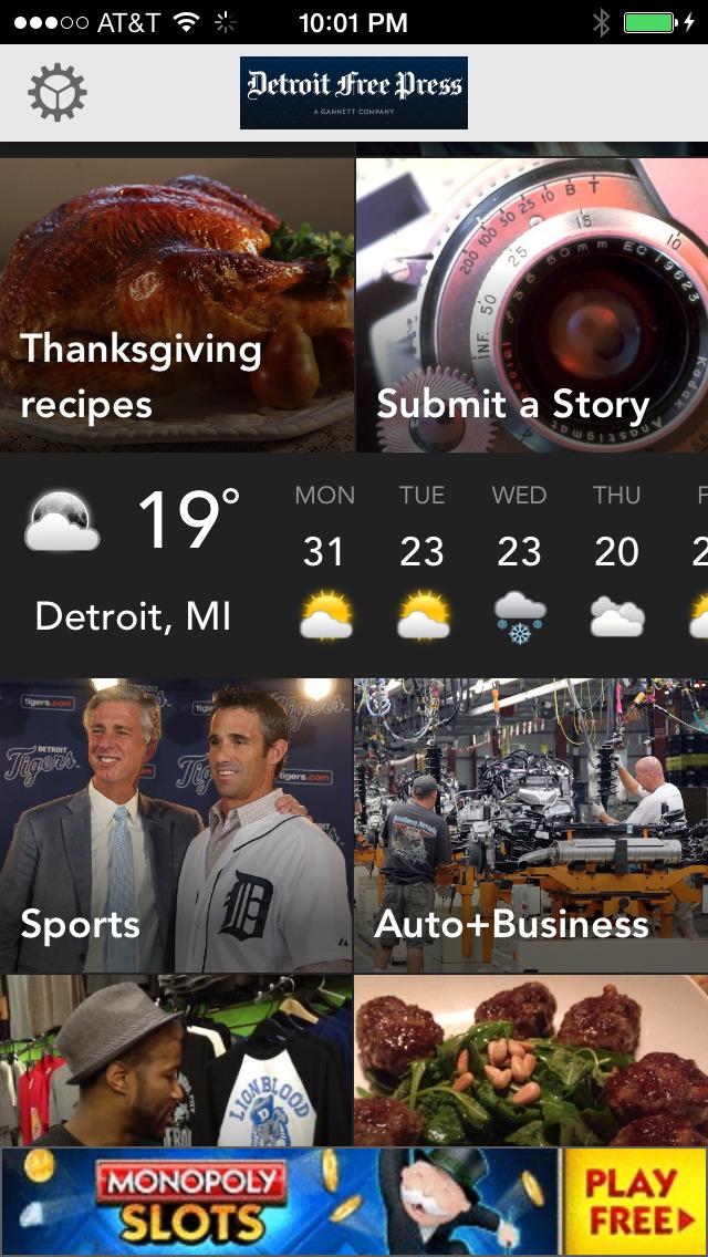 Detroit Free Press screenshot 1