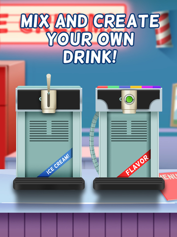 Awesome Ice Cream Milkshake Smoothie Parlor Maker screenshot 5