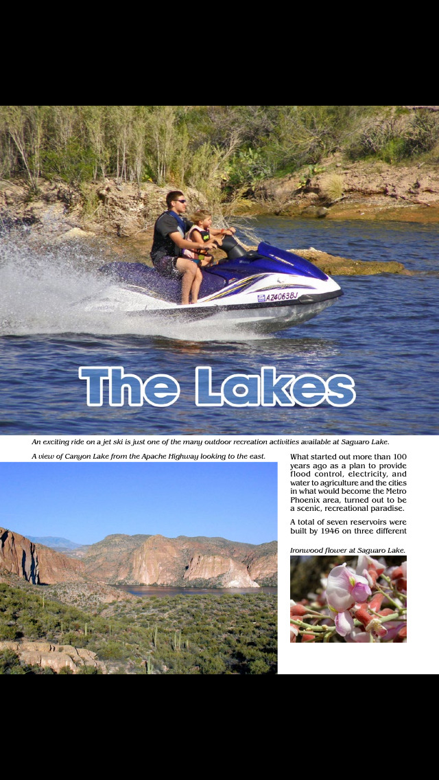Arizona Vacations Magazine screenshot 5