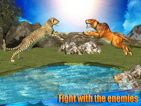 Angry Cheetah Simulator 3D screenshot 6