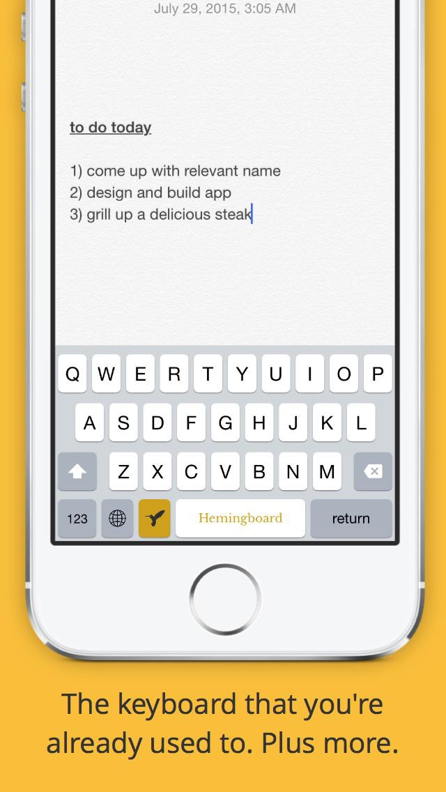 Hemingboard: Synonyms,Rhymes,Puns in Your Keyboard screenshot 4