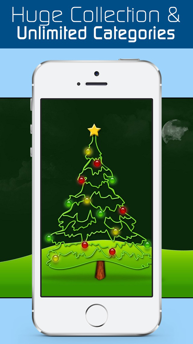 Amazing Christmas Wallpapers & New Year Backgrounds HD - Exclusive Christmas & New Year Ringtones for Holiday Seasons screenshot 4