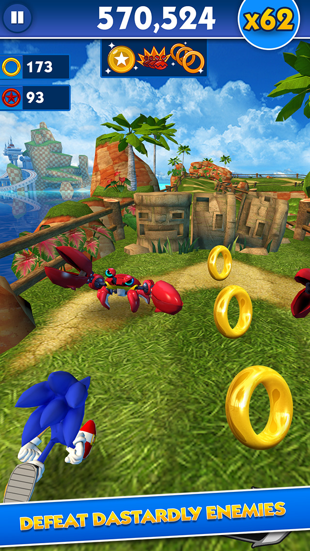Sonic Dash - Endless Runner screenshot 3