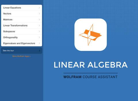 Wolfram Linear Algebra Course Assistant screenshot 6