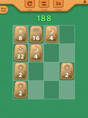 2048 Aztec Rune Stones Mini Puzzles screenshot 6