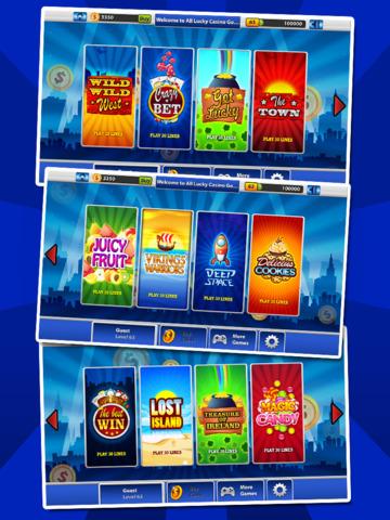 `Lucky Gold Coin Jackpot Casino 777 Slots - Slot Machine with Blackjack, Solitaire, Bonus Prizewheel screenshot 8