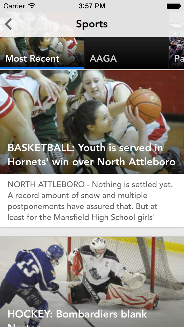 The Sun Chronicle, Attleboro, MA screenshot 3
