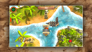 Gold of the - Pirates screenshot 1