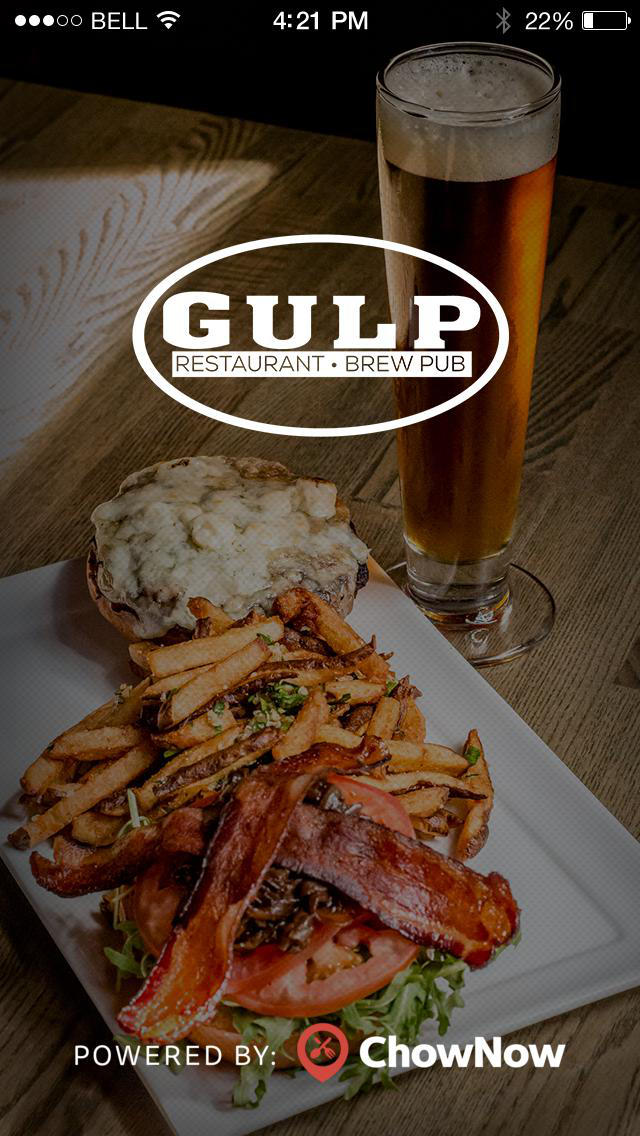 Gulp Restaurant and Brew Pub screenshot 1