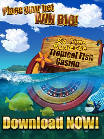Roulette of Tropical Fish Casino 777 (Win Big) screenshot 6