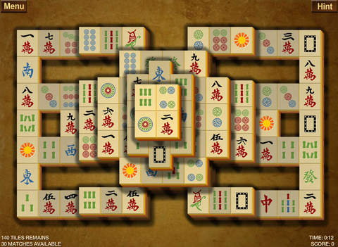 Mahjong II screenshot 3