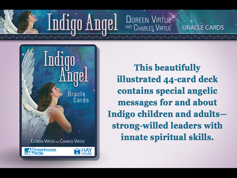 Indigo Angel Oracle Cards - Doreen Virtue, Ph.D. and Charles Virtue screenshot 4