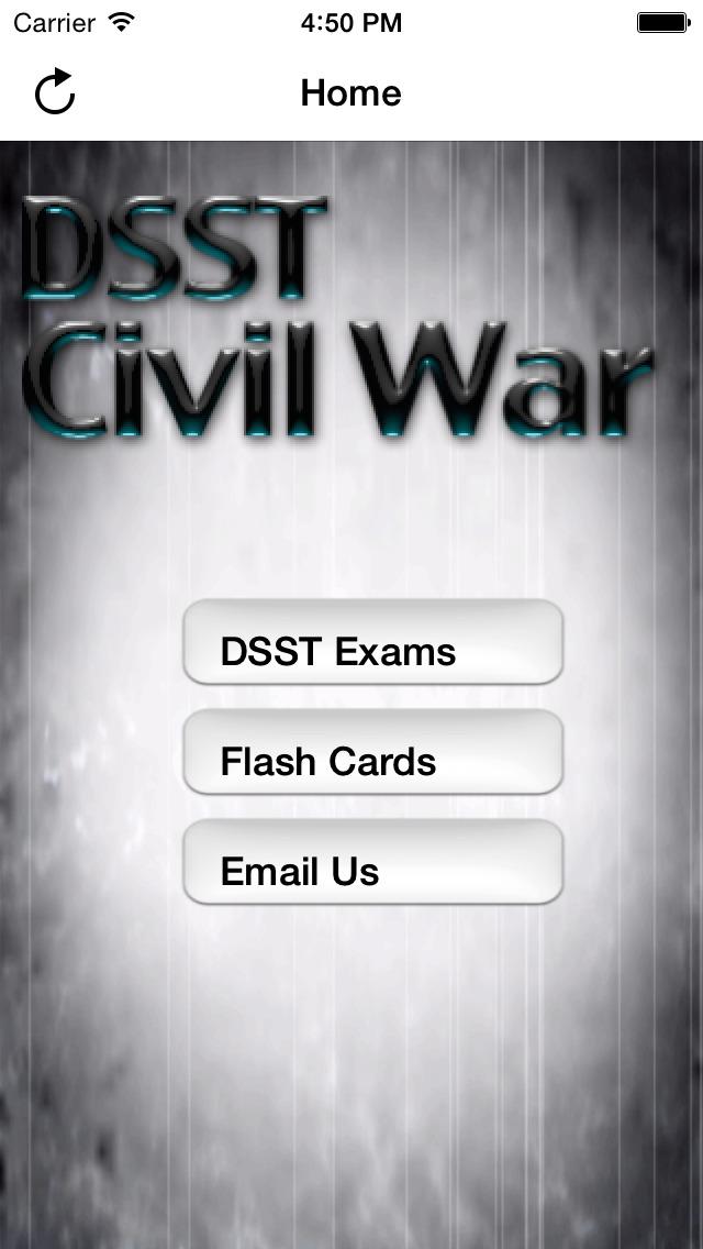 DSST Civil War screenshot 1