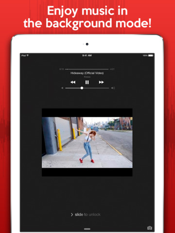 Watch & Listen - Best media player for YouTube music, videos, and clips screenshot 6